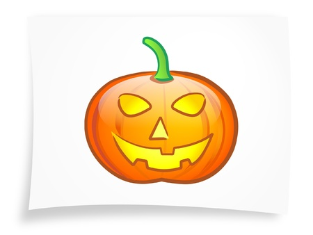 Halloween pumpkin 2 Stock Vector - 10520183