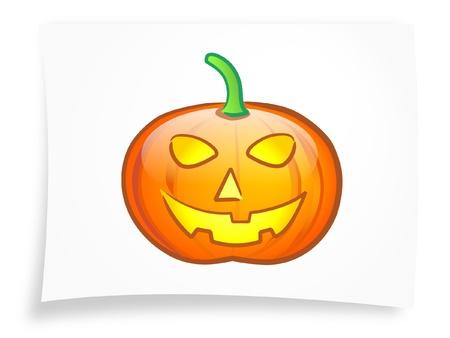 Halloween pumpkin 2 Stock Vector - 10520183