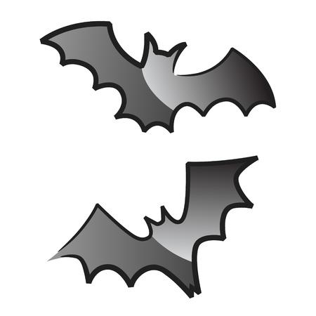 scare: Halloween bats