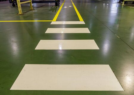 sectoring: walkway in plant