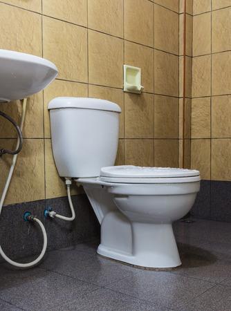 luxury bathroom: luxury modern style interior bathroom. Stock Photo
