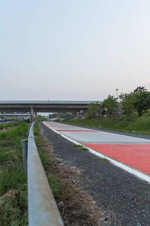 curve road: Dangerous road curve