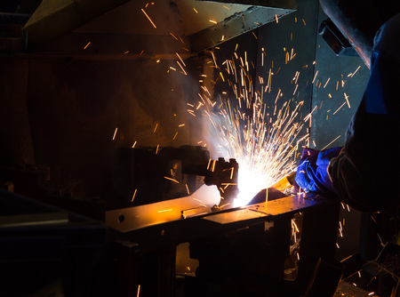 fabricator: The working in Welding skill up