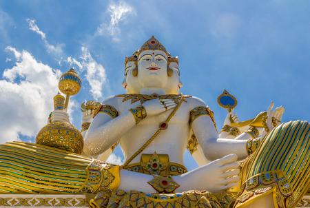 phrom: The biggest Brahma, the Hindu God of Creation, is located at Samanrattanaram Temple.