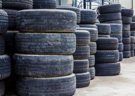 utilized: wheel tyres ,Old tires