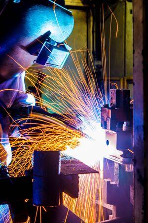 factory: Factory welder