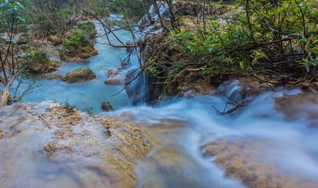 nant: beautiful waterfalls  the Tee lor su  in Thailand