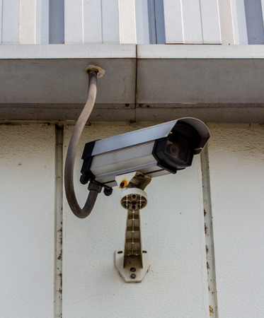deterrent: CCTV or security camera, a protection technology