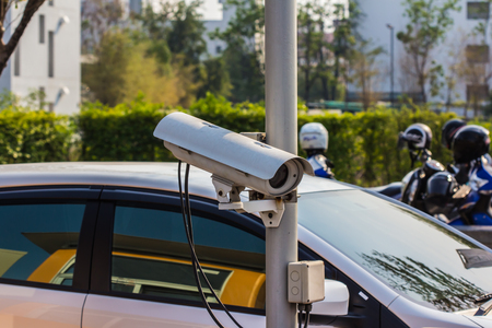 barriers: Automatic vehicle Security Barriers with security camera