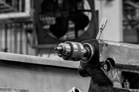 cutting tool: cutting tool on a lathe