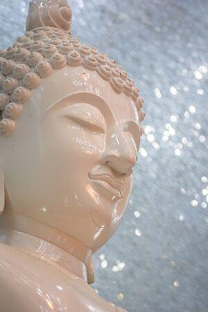 Buddha face Stock Photo