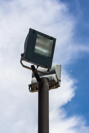 Illumination lamp Stock Photo