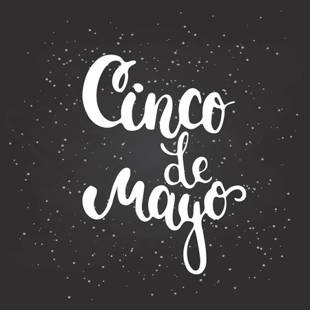5th: Cinco de Mayo mexican greeting card. Vector illustration for 5th of May.