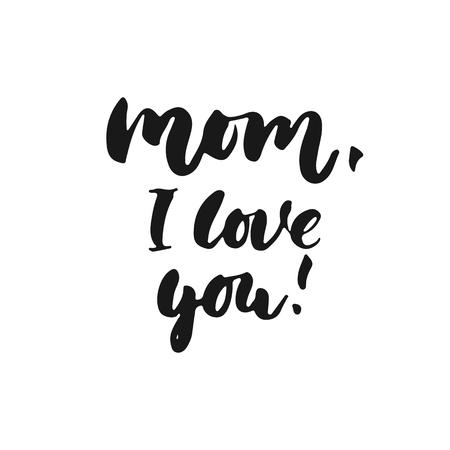 La Mejor Mamá De Todos Los Tiempos Dibujado A Mano Letras