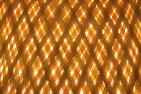 Abstract  with crossed colored yellow lines