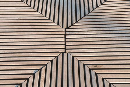 Abstract wooden striped  with pronounced shadows