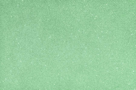 Abstract glitter blurred shiny mint green ash background. Bright sparkling bokeh wallpaper style. Festive Christmas holiday futuristic texture Reklamní fotografie - 159019762