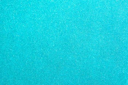 Abstract glitter blurred shiny blue aqua background. Bright sparkling bokeh wallpaper style. Festive Christmas holiday futuristic texture. Reklamní fotografie - 159070763