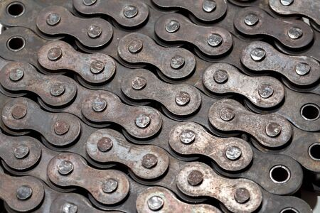 The articulated chain drive