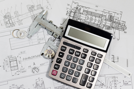 measuring instrument: Engineering drawings & measuring instrument - Vernier caliper, coursework or thesis project. Project engineer.