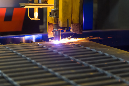 cutting metal: Cutting metal Modern technologies of production of Universal equipment for the manufacture of parts, cutting of sheet steel with laser, plasma or gas.