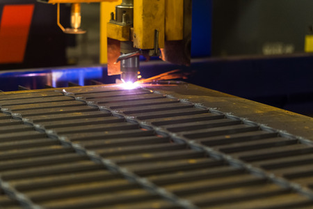 Cutting of metal. Laser or electric arc. As well as welding of metal.