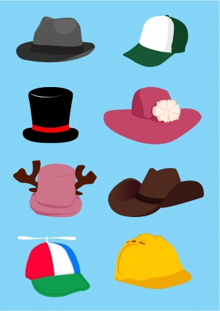 derby hats: hat vector