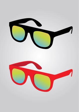 wayfarer: Sunglass vector Illustration