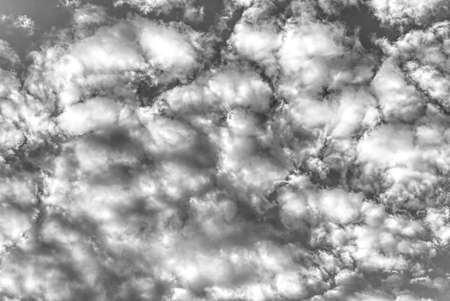 Beautiful Black & White sky and clouds