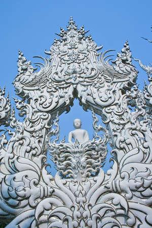 Thai temple in Chiangrai,Thailand photo
