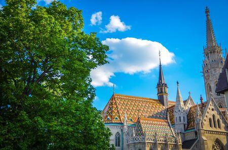 matthias: Matthias church in Buda Stock Photo