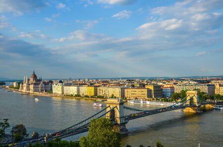 szechenyi: Szechenyi Chain Bridge, Budapest