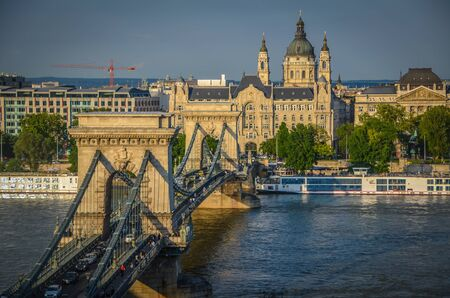 szechenyi: Szechenyi Puente de las Cadenas, Budapest