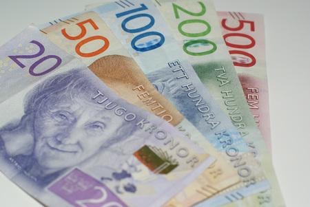 Sveriges nya sedlar. Swedens new bills