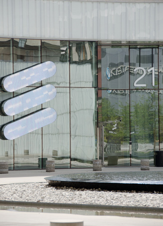 ericsson: Ericsson Headquarters in Kista, a suburb in northern Stockholm. Editorial