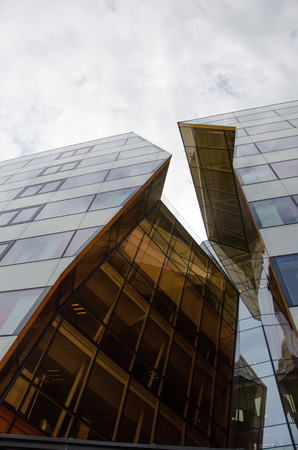 ericsson: Stockholm, Sweden - June 11 2017. A view of one of the buildings used by the multinational networking and telecommunications equipment and services company Ericsson as their headquarters in Kista, a northern suburb to Stockholm.