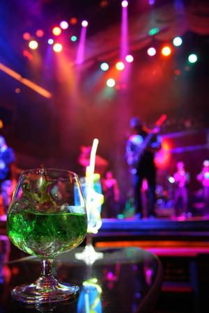 band bar: night life Stock Photo