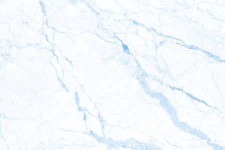 Blue pastel marble texture background with high resolution in seamless pattern for design art work and interior or exterior. Stockfoto