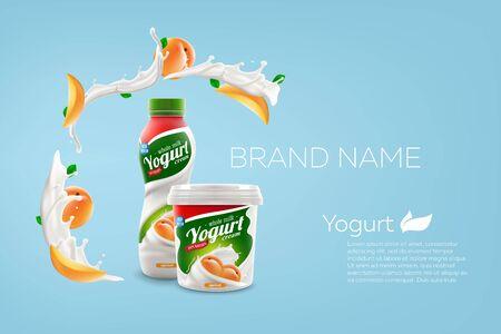 illustration de maquette vectorielle pour les publicités et la conception de produits Vecteurs