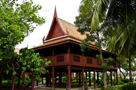 country house style: Home, Thai Style, Central of Thailand