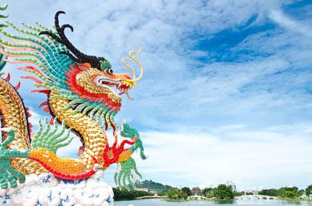 naga china: Dragon in Thailand