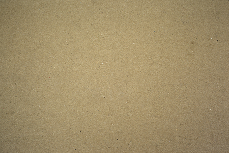Brown cardboard, paper texture background. Banco de Imagens