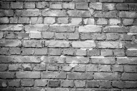Brick wall background with space for your text and picture.