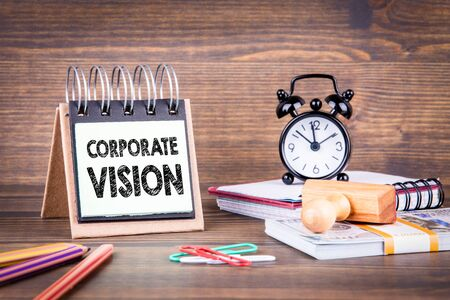 Corporate Vision concept. Business and success background 版權商用圖片