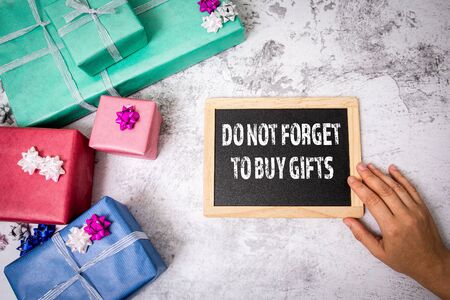 Do not forget to buy gifts. Preparation for the celebration