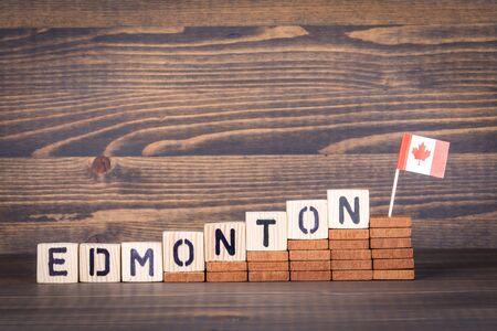 Edmonton, Canada. Politics, economic and immigration concept Stok Fotoğraf