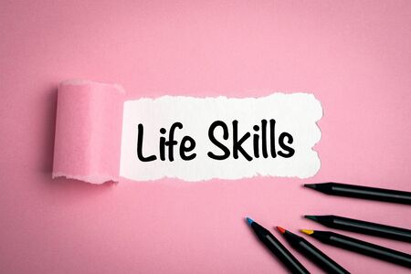 Life skills. Abstract, opportunities, career and education