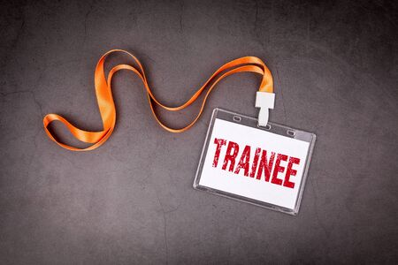 Stagiaire. Formation, compétences, pratique et concept de carrière