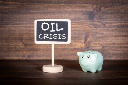 Oil Crisis. Import and export, price, oil production Concept Reklamní fotografie
