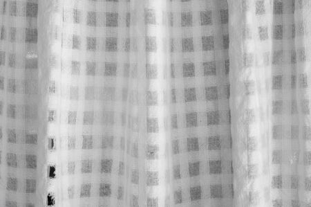white curtain: texture of white curtain